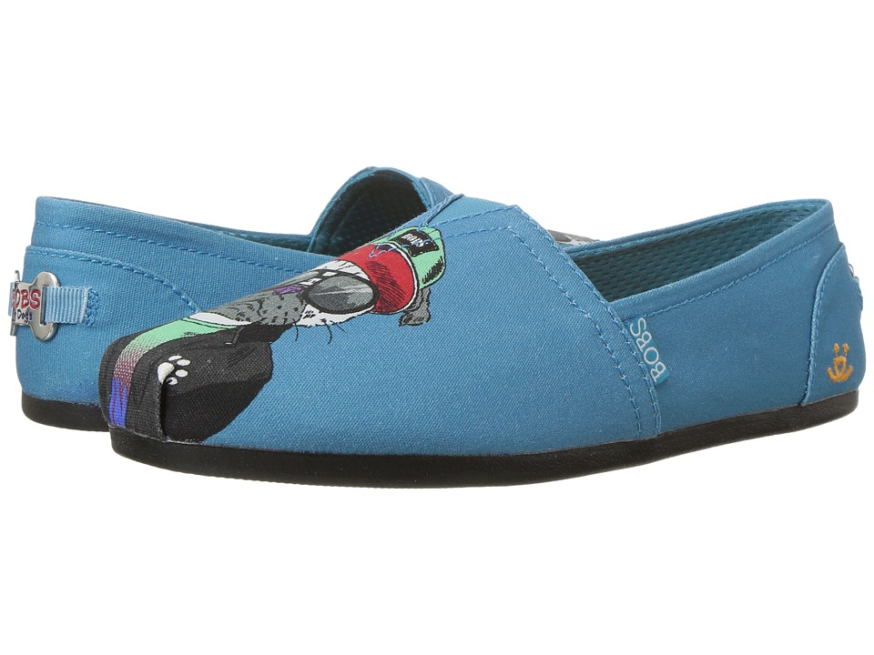 BOBS from SKECHERS Bobs Plush Outpaws (Teal) Women