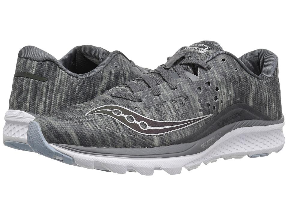 Saucony Kinvara 8 (Grey) Women's Shoes