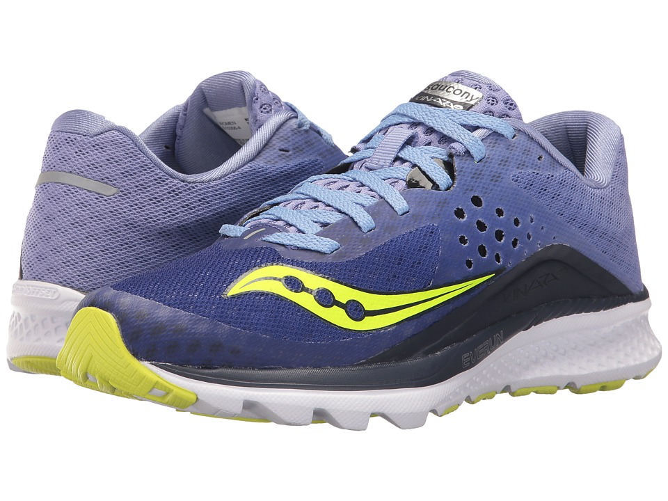 Saucony Kinvara 8 (Navy/Purple) Women