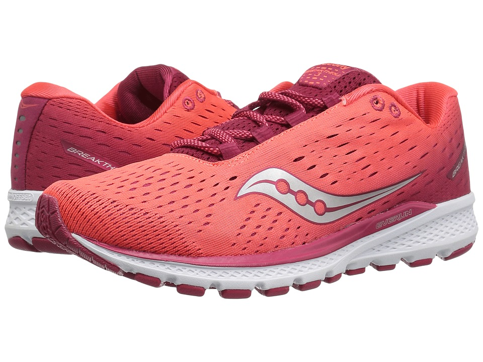 Saucony Breakthru 3 (Berry/Coral) Women