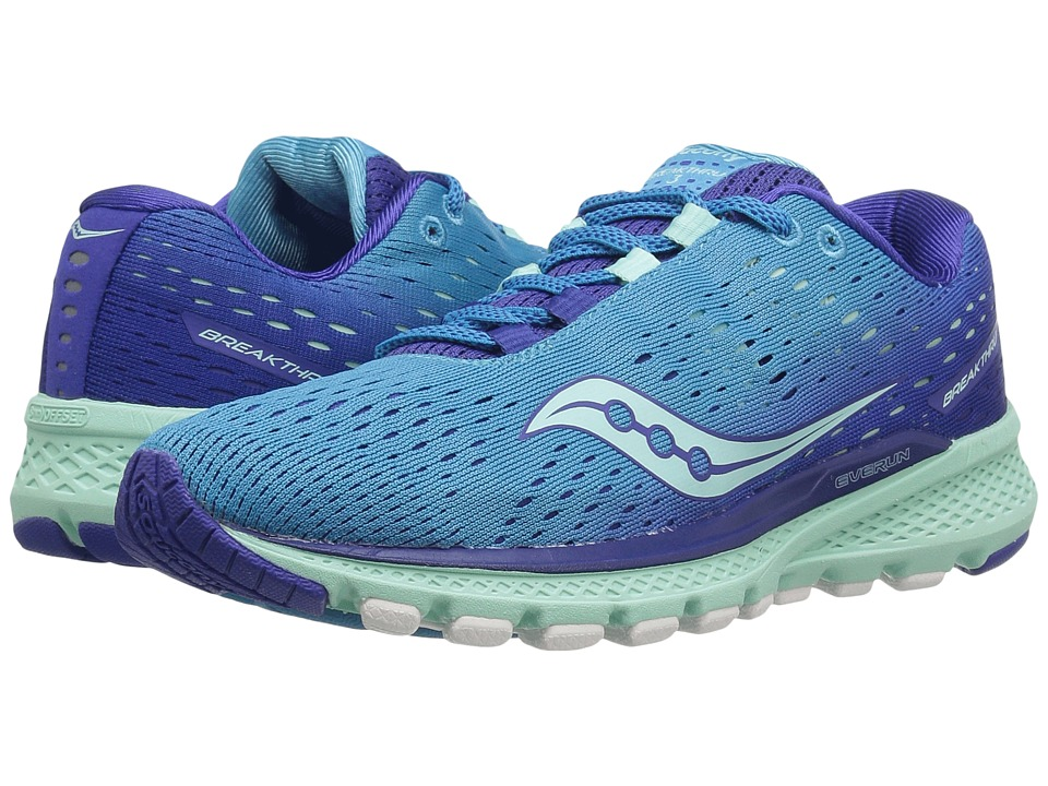 Saucony Breakthru 3 (Blue/Mint) Women