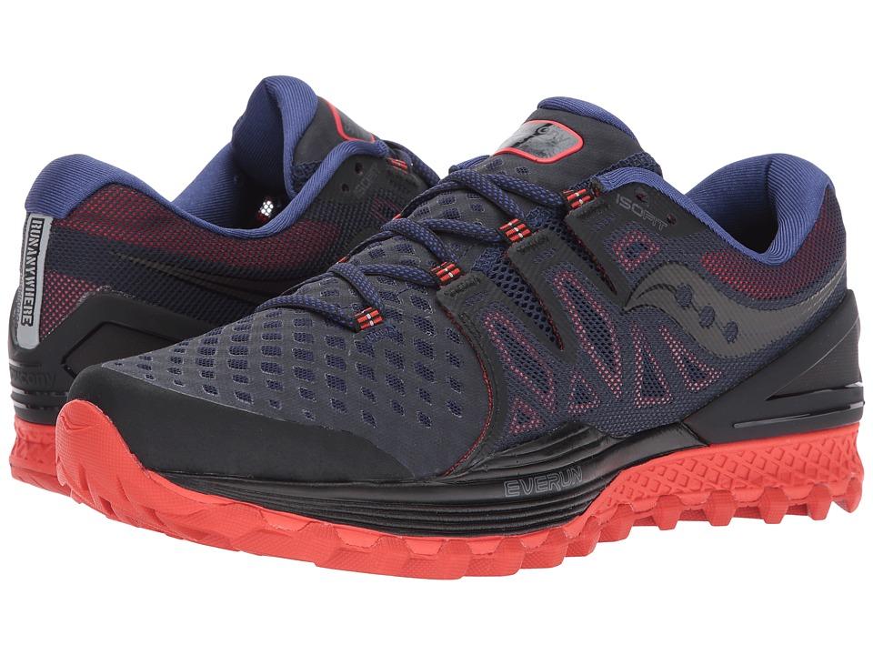 Saucony Xodus ISO 2 (Black/Orange) Men's Running Shoes