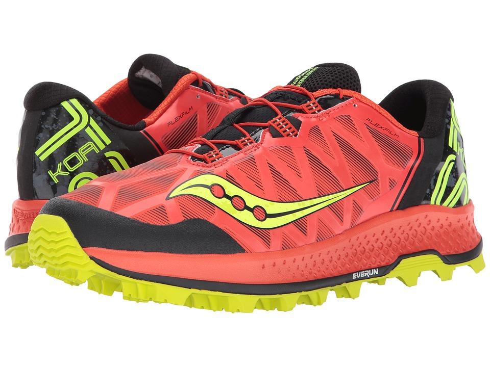 Saucony Koa ST (Orange/Citron) Men's Running Shoes
