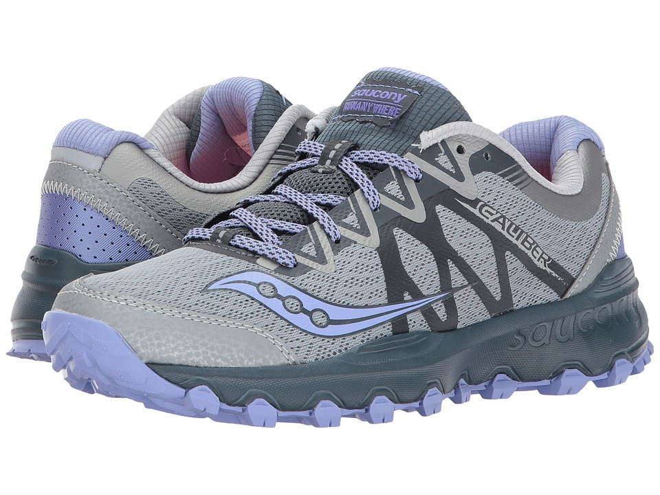 Saucony Caliber TR (Grey/Purple) Women