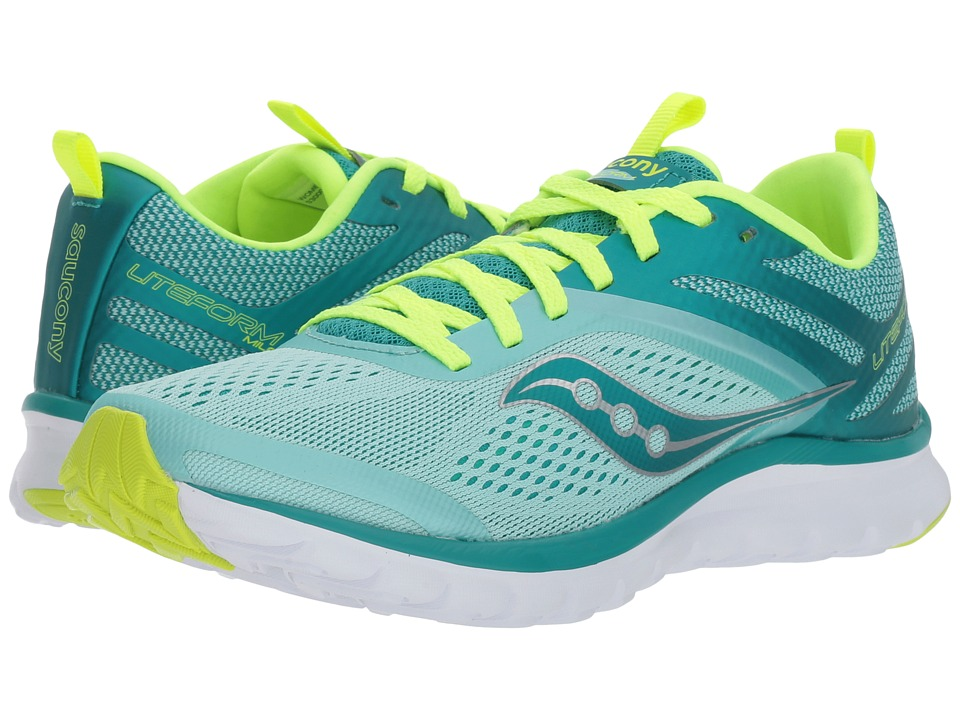 Saucony Liteform Miles (Teal/Citron) Women