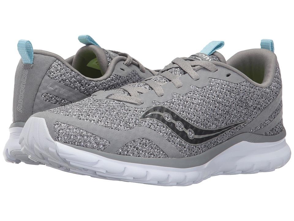 Saucony Liteform Feel (Grey/Grey) Women's Running Shoes
