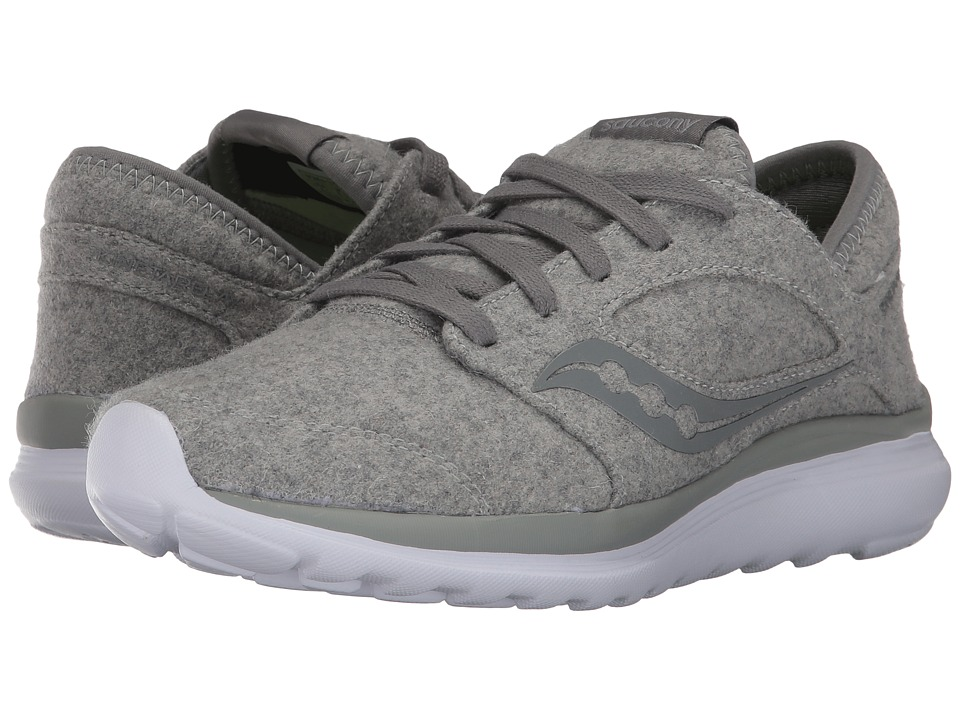 Saucony Kineta Relay Wool (Grey) Women's Shoes