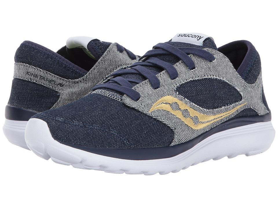 Saucony Kineta Relay Denim (Blue Denim) Women's Shoes