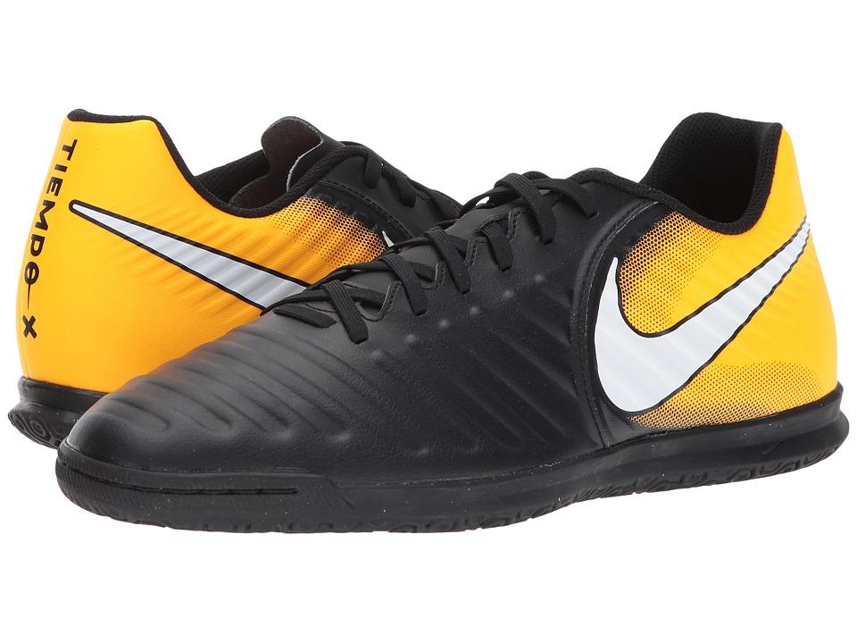 Nike TiempoX Rio IV IC (Black/White/Laser Orange/Volt) Me...