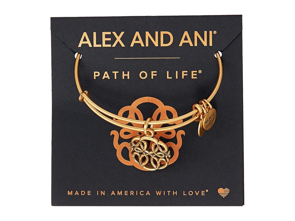 Alex And Ani Path Of Symbols Path Of Life Iv Bangle Rafaelian Gold