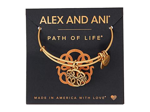 Alex and Ani Path of Symbols-Path of Life IV Bangle - Rafaelian Gold