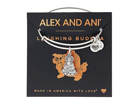 Alex and Ani Path of Symbols-Buddha II Bangle - Rafaelian Silver