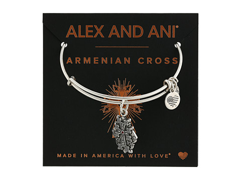 Alex and Ani Path of Symbols-Armenian Cross IV Bangle - Rafaelian Silver