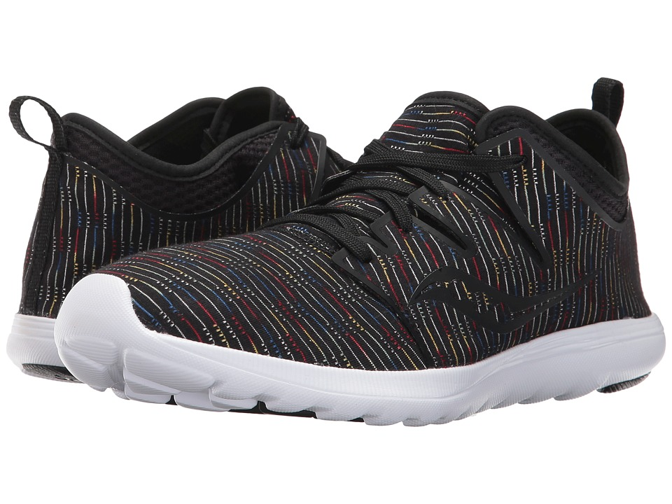 Saucony Eros Lace (Black Multi) Women