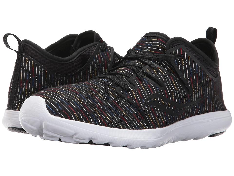 Saucony Eros Lace (Black Multi) Women's Shoes