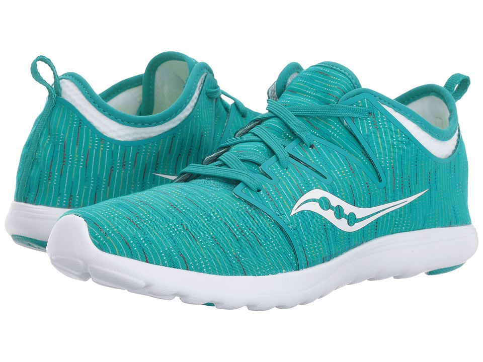 Saucony Eros Lace (Teal Multi) Women