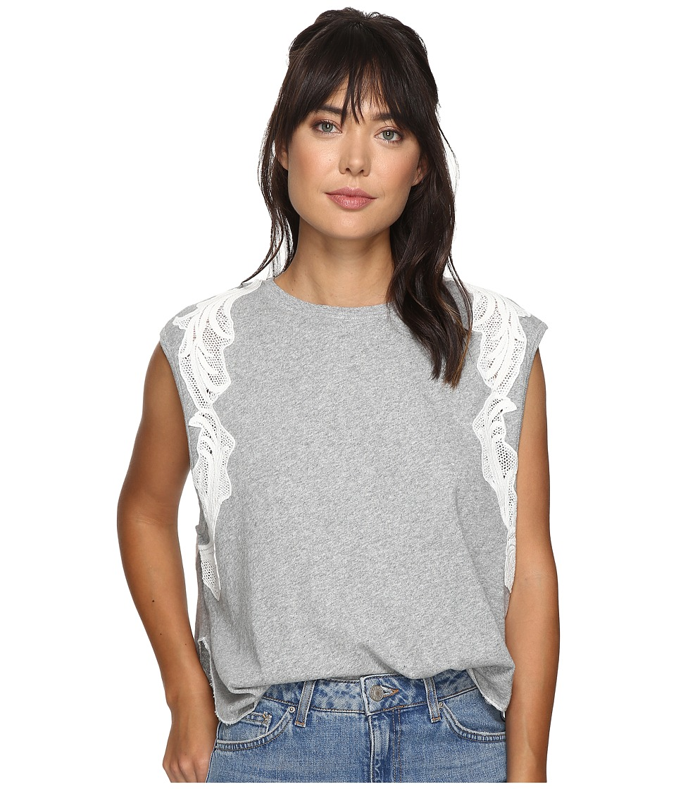 Free People Bonsai Tee (Grey) Women