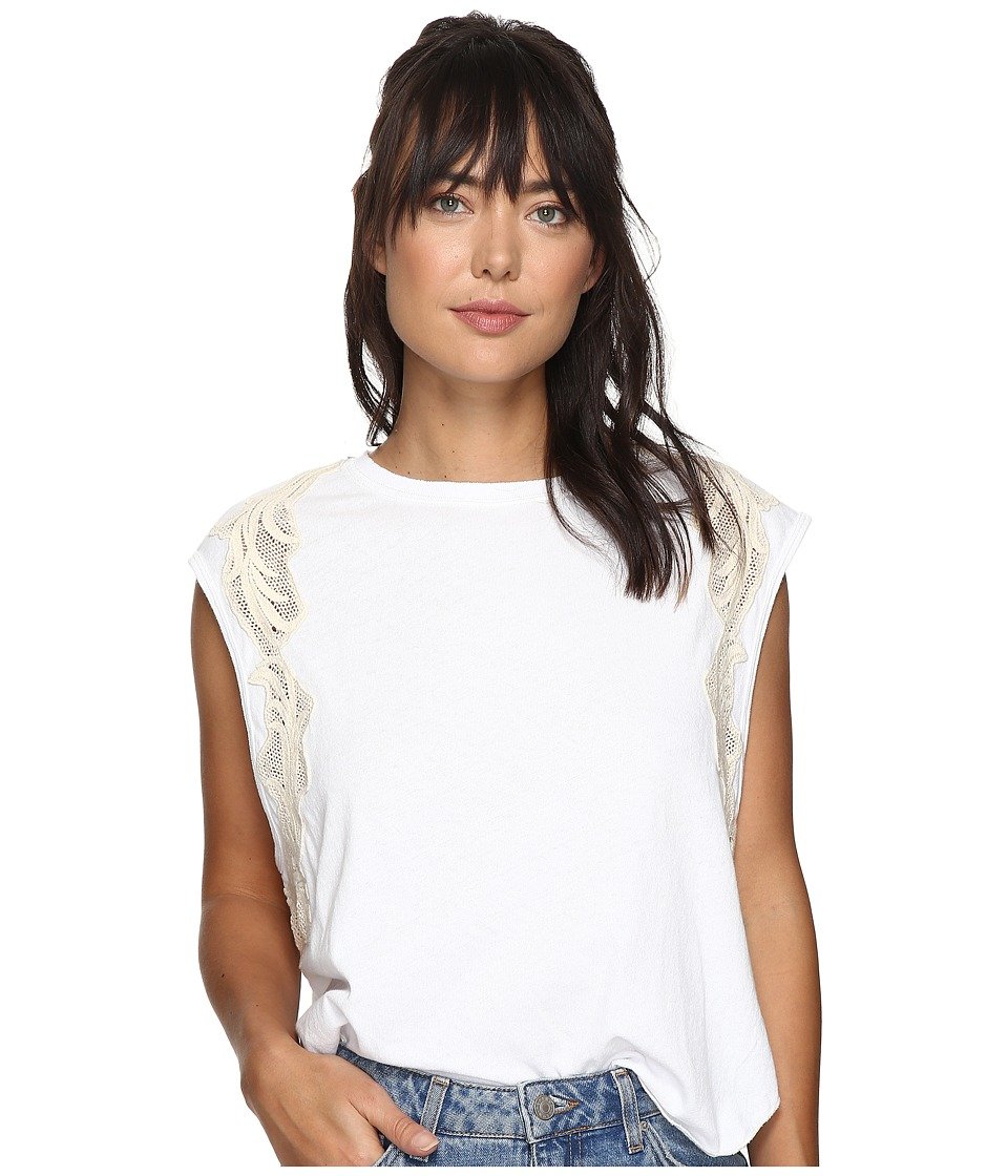 Free People Bonsai Tee (White) Women