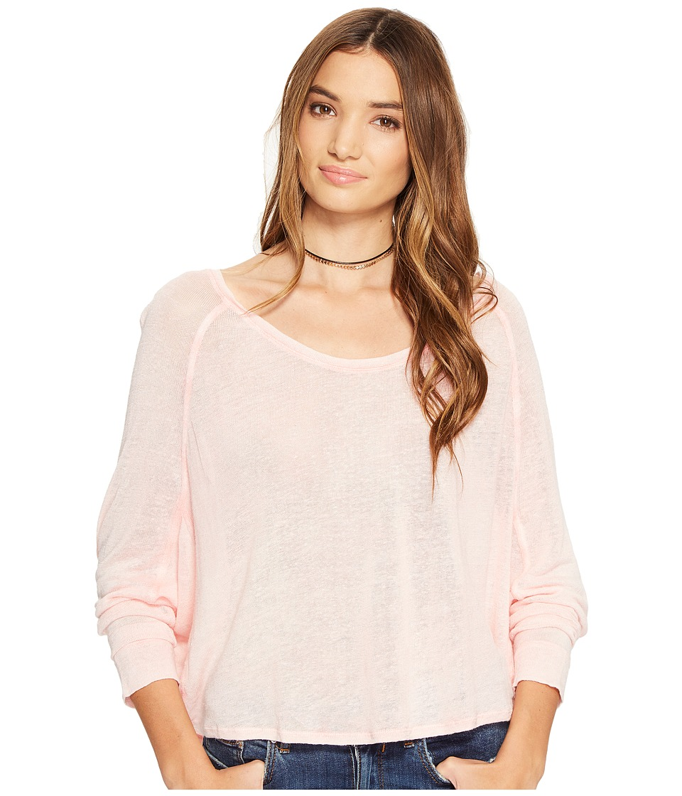 Free People Nashville Tee (Pink) Women