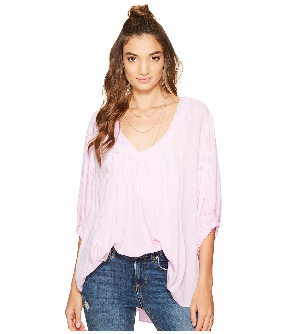 Free People Catch Me If You Can Tee (Lilac) Women