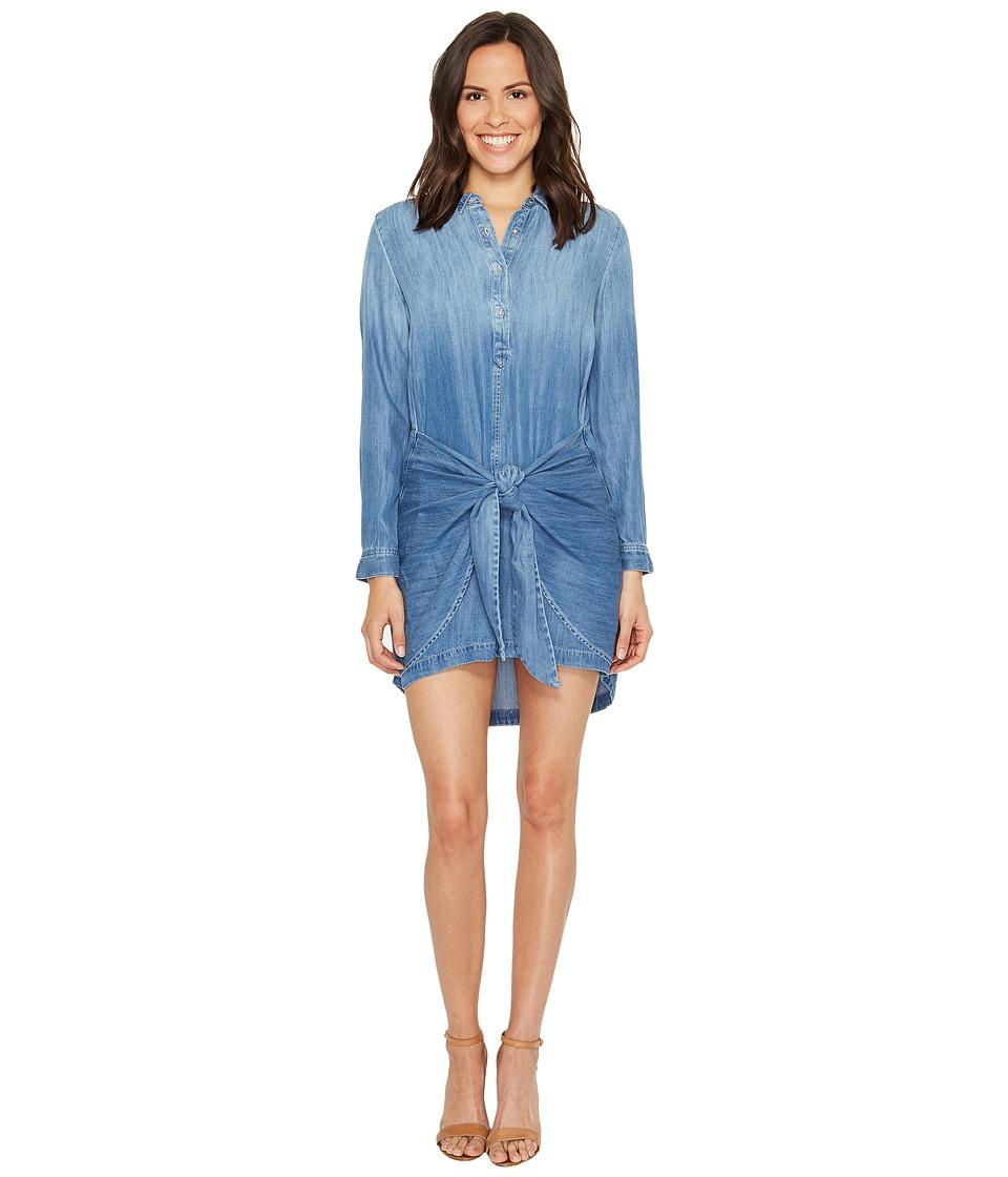 Calvin Klein Jeans Tie Front Button Down Dress (Bella Mid) Women