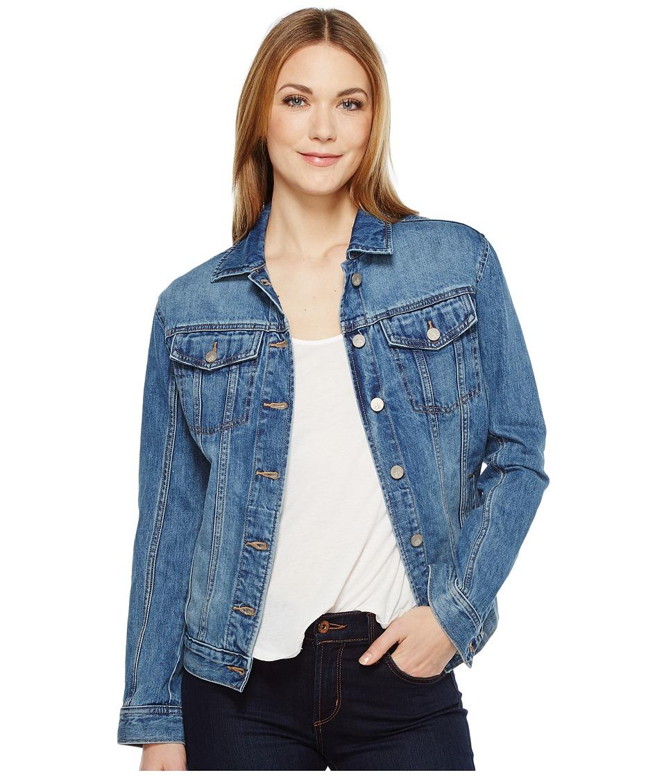 Calvin Klein Jeans Oversized Boyfriend Trucker Jacket (Indigo Vintage) Women