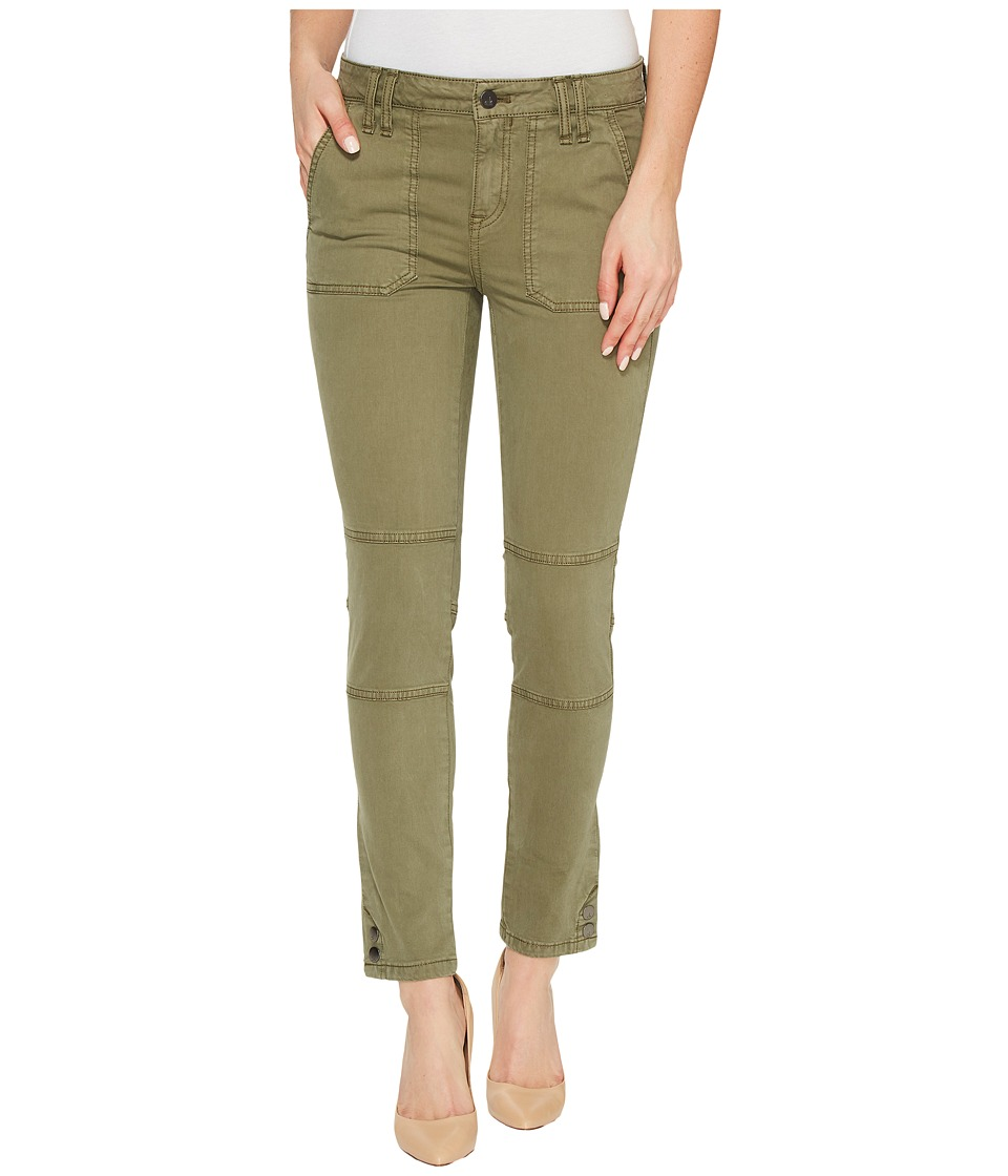 Calvin Klein Jeans Garment Dyed Cargo Ankle Skinny Pants (Ivy Mist) Women
