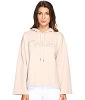 Calvin Klein Jeans - Cropped Logo Hoodie