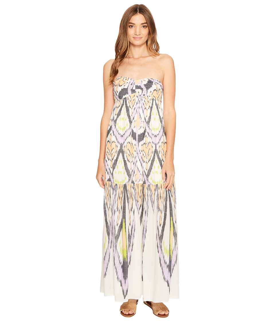 Free People Mojave Maxi Dress (Neutral Combo) Women