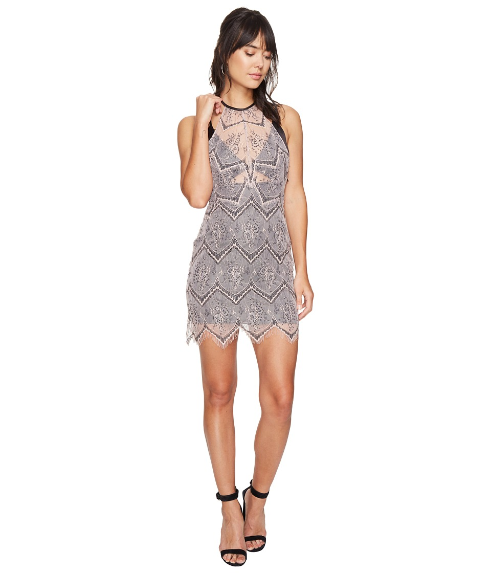 Free People Nothing Like This Mini Dress (Nude) Women