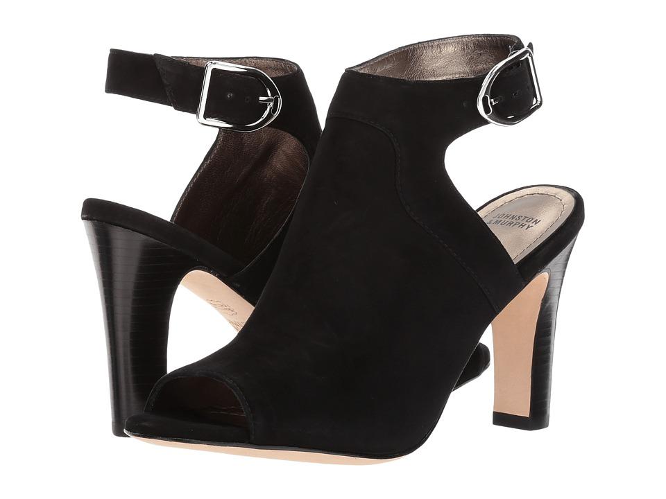 Johnston & Murphy - Cassie (Black Kid Suede) Womens  Shoes