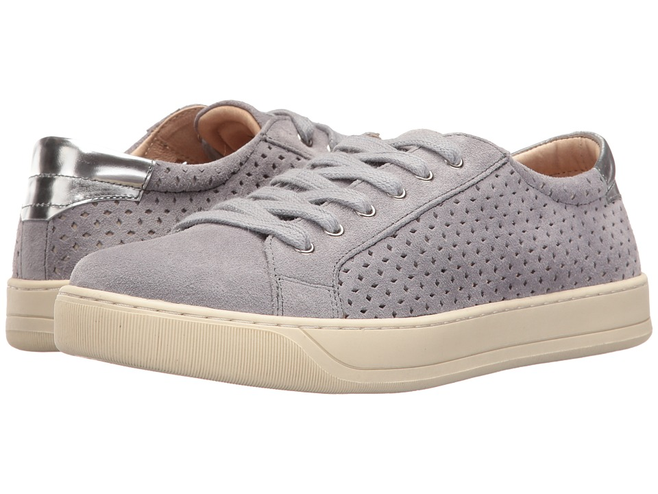 Johnston & Murphy - Emerson Perfed (Denim Suede) Womens  Shoes