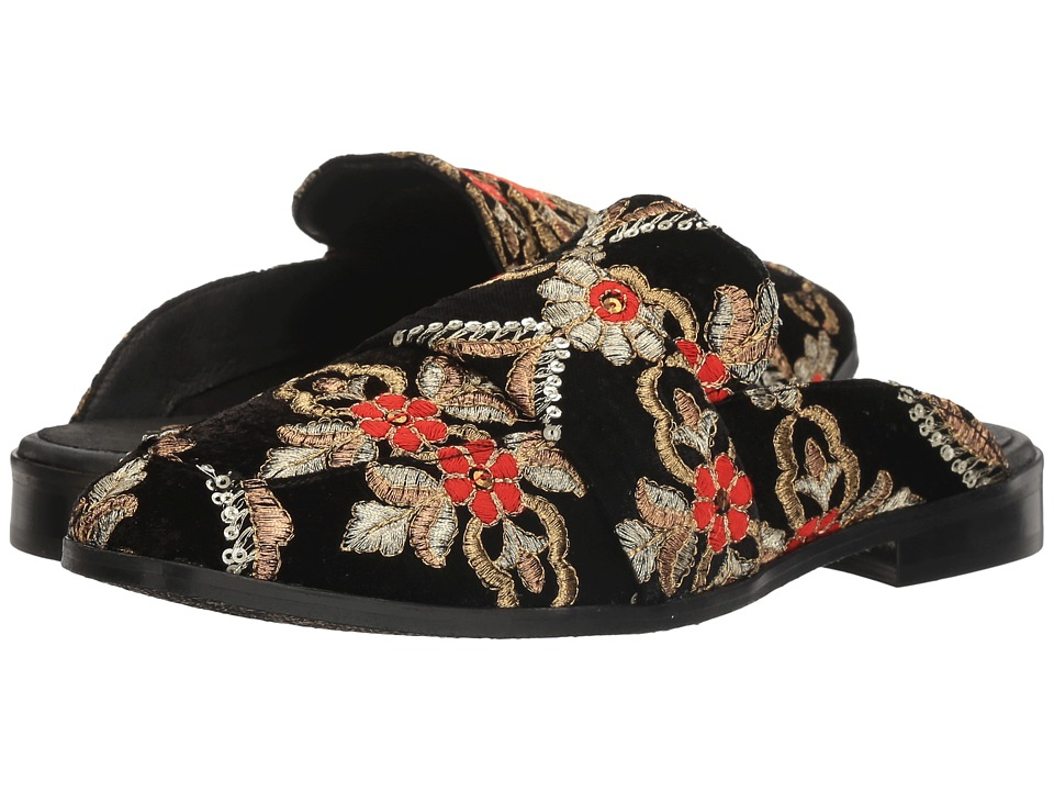 Free People Brocade At Ease Loafer (Black) Women