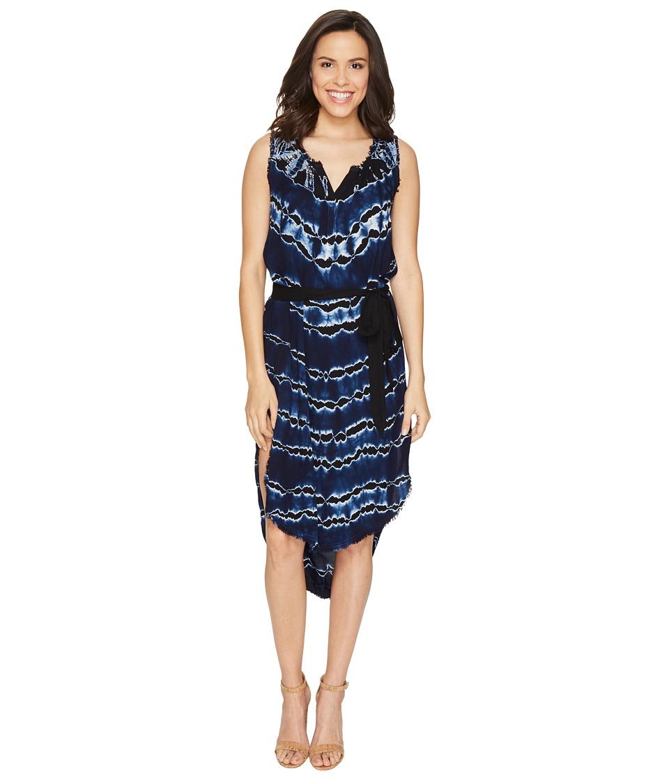 Young Fabulous & Broke Walker Dress (Ink Stripe) Women