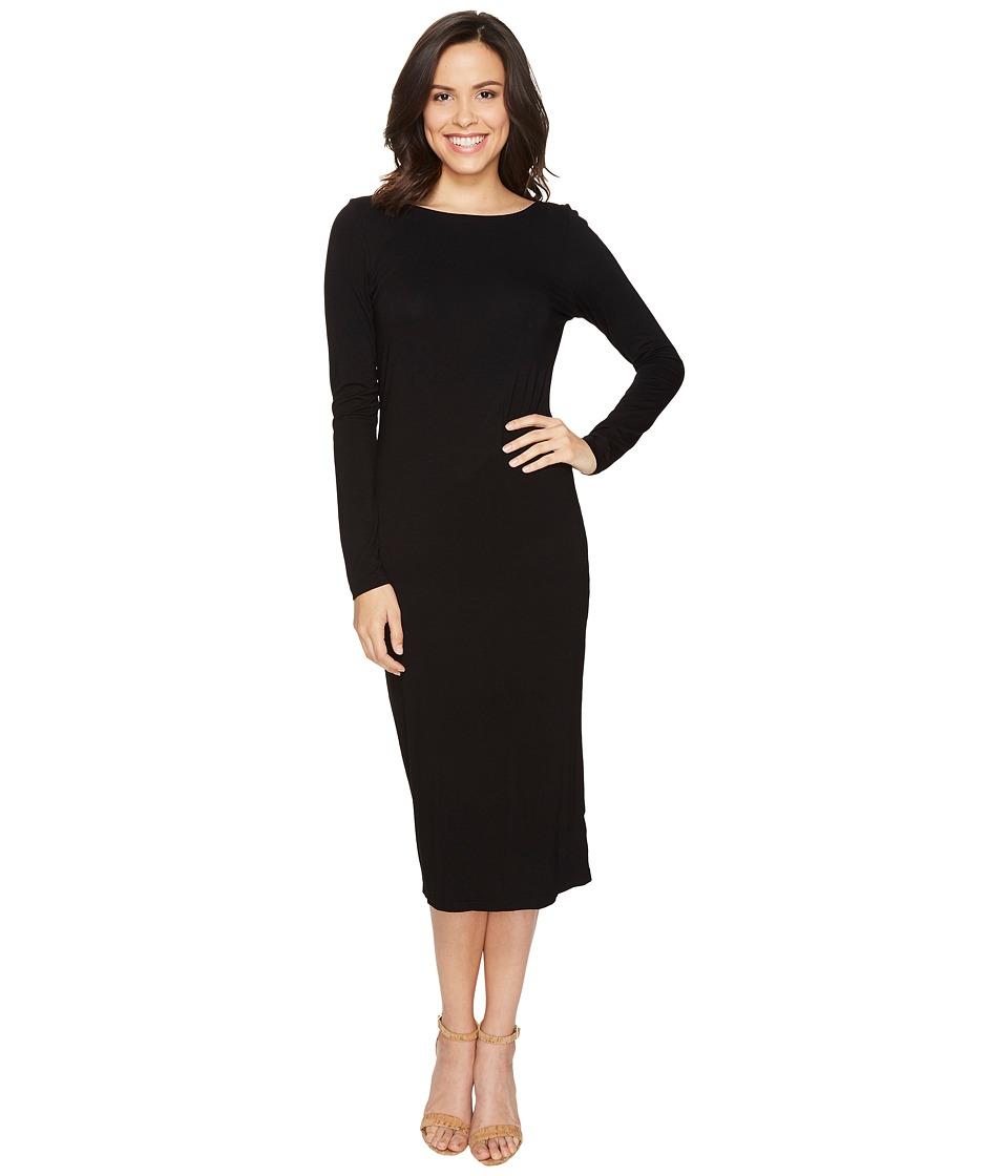 Young Fabulous & Broke Karlyn Dress (Black Solid) Women