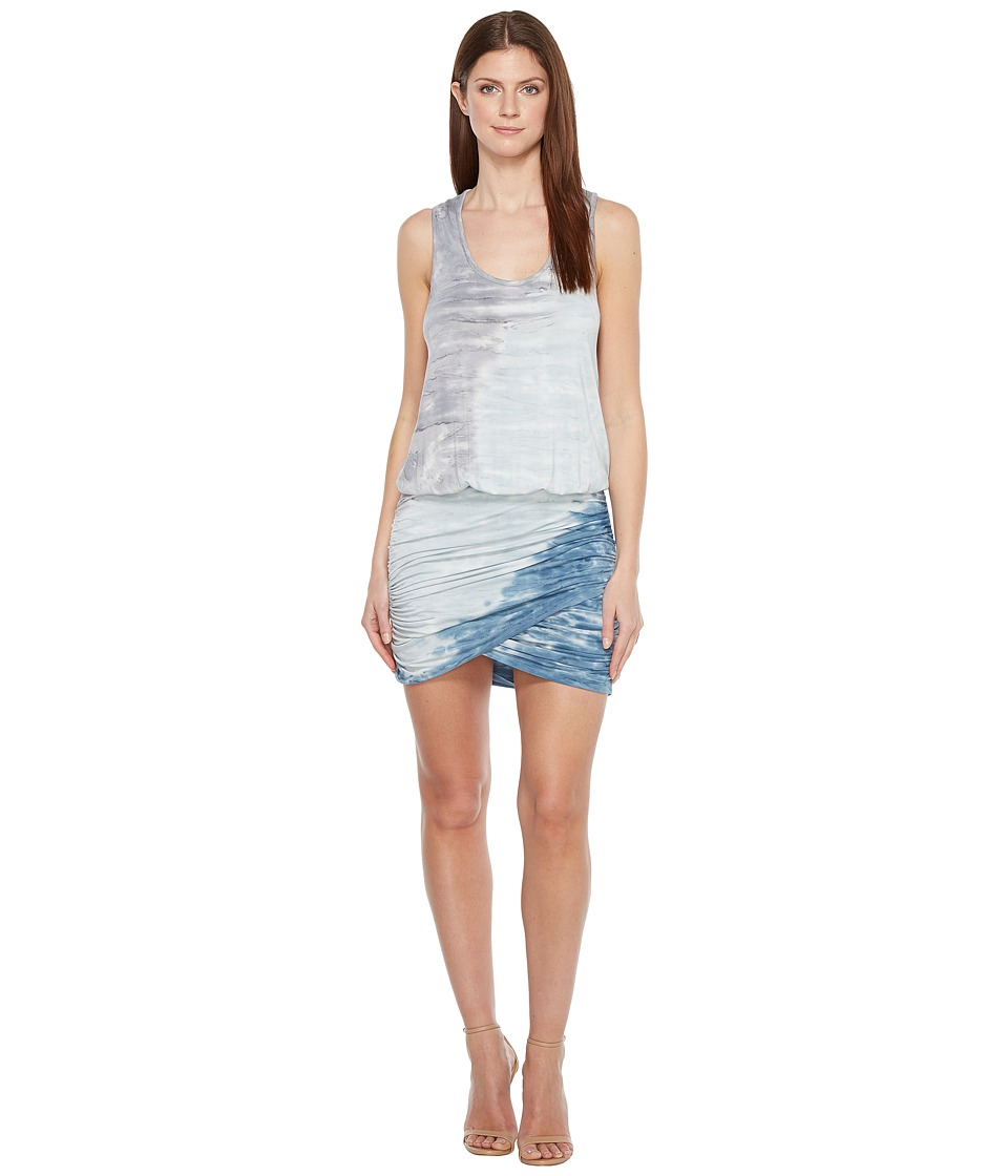 Young Fabulous & Broke Elize Dress (Teal Reef) Women