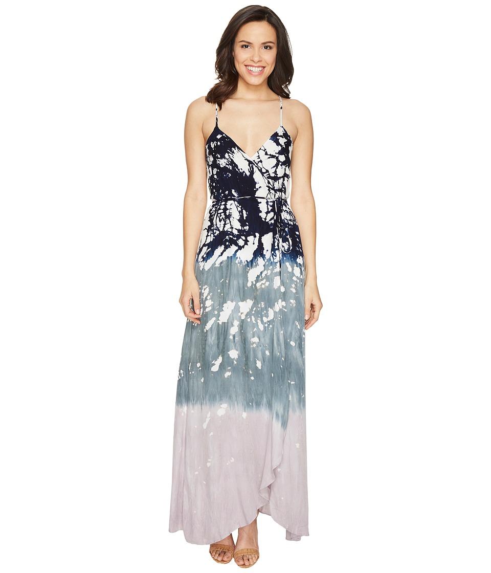 Young Fabulous & Broke Lorelai Wrap Dress (Sage Earthquake) Women