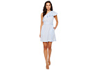 Donna Morgan One Shoulder Mini Dress w/ Self Belt
