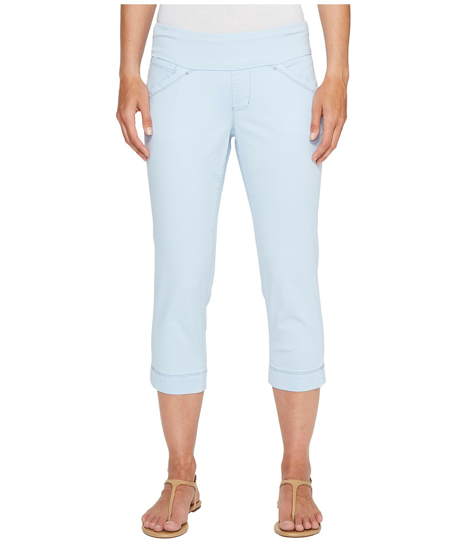 Jag Jeans Petite Petite Marion Pull-On Crop in Bay Twill (Bluebell) Women