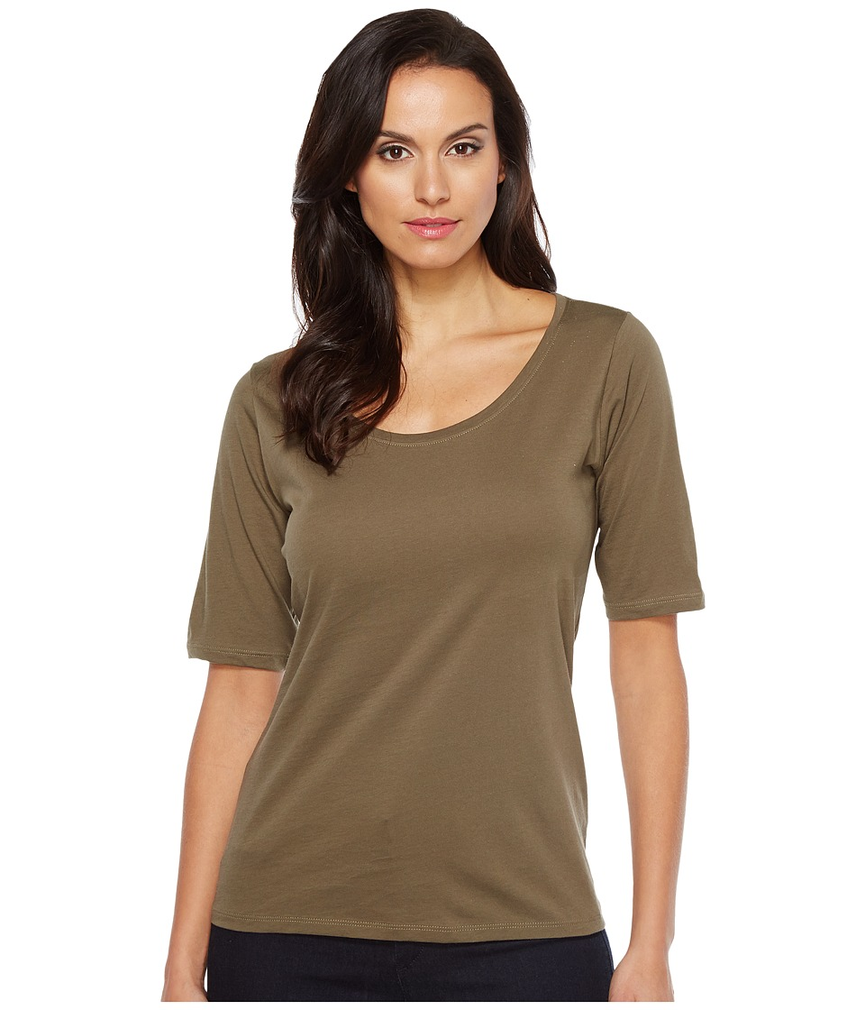 Pendleton Perfect Pima Tee (Seagrass) Women