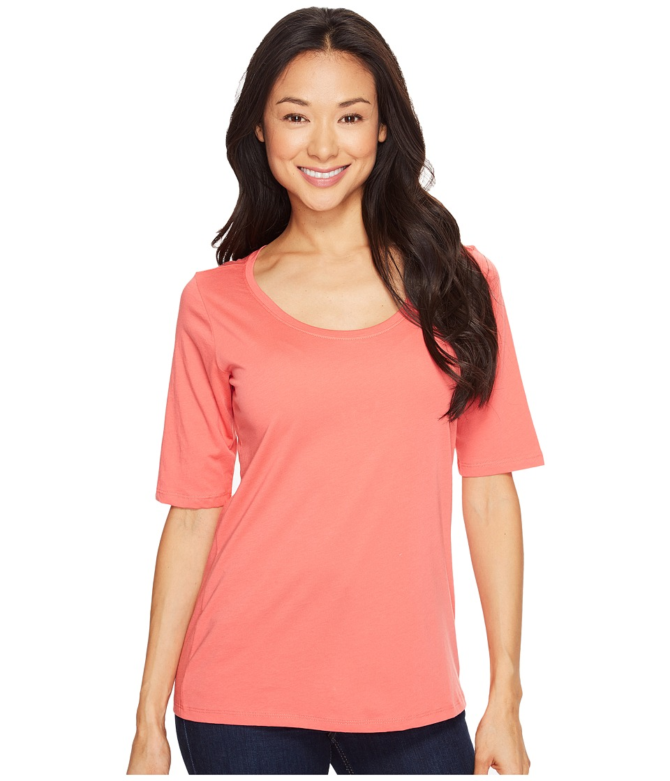 Pendleton Perfect Pima Tee (Coral Pink) Women