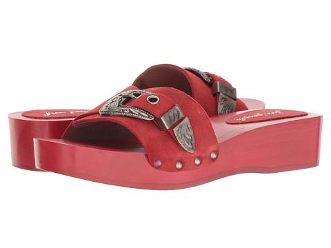 Free People Westtown Slide Clog - Red