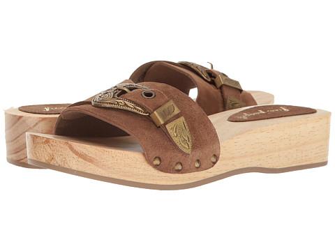 Free People Westtown Slide Clog - Taupe