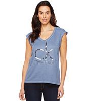 Calvin Klein Jeans - Brushstroke Foil Logo Tee