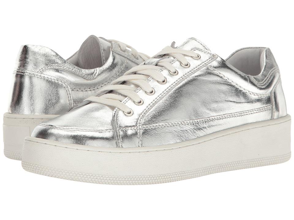 Free People Letterman Sneaker (Silver) Women