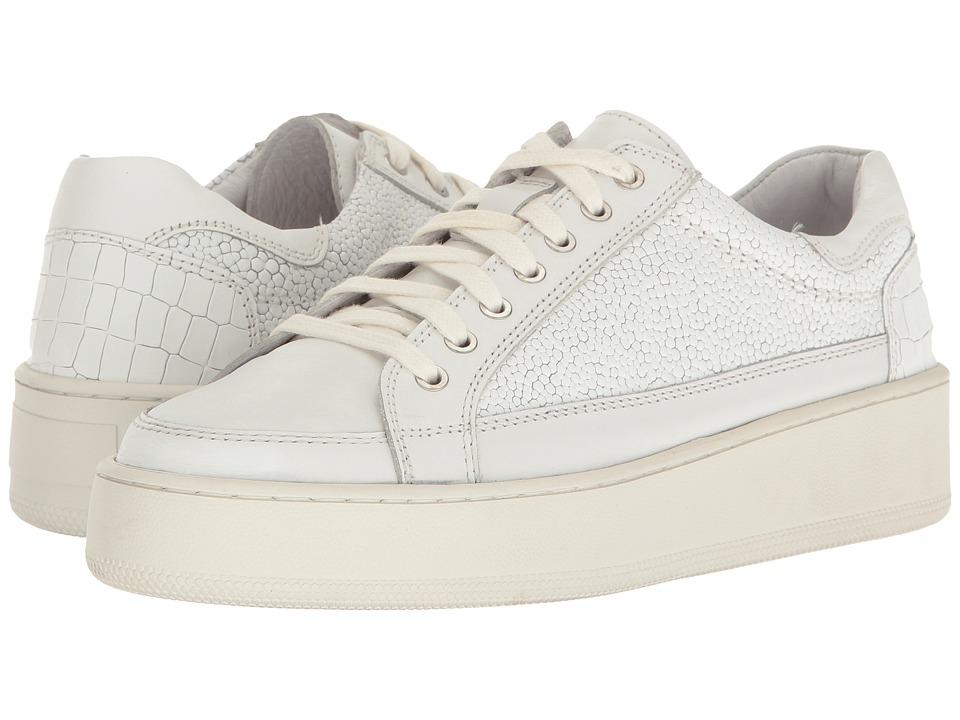 Free People Letterman Sneaker (White) Women