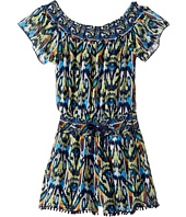 Ella Moss Girl - Raya Romper Chiffon Smocked (Big Kids)