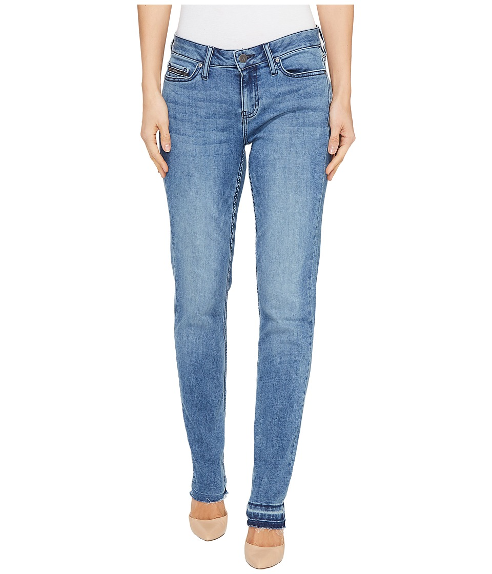 Calvin Klein Jeans Ultimate Skinny Jeans in Faded Blue Berry Wash (Faded Blue Berry) Women