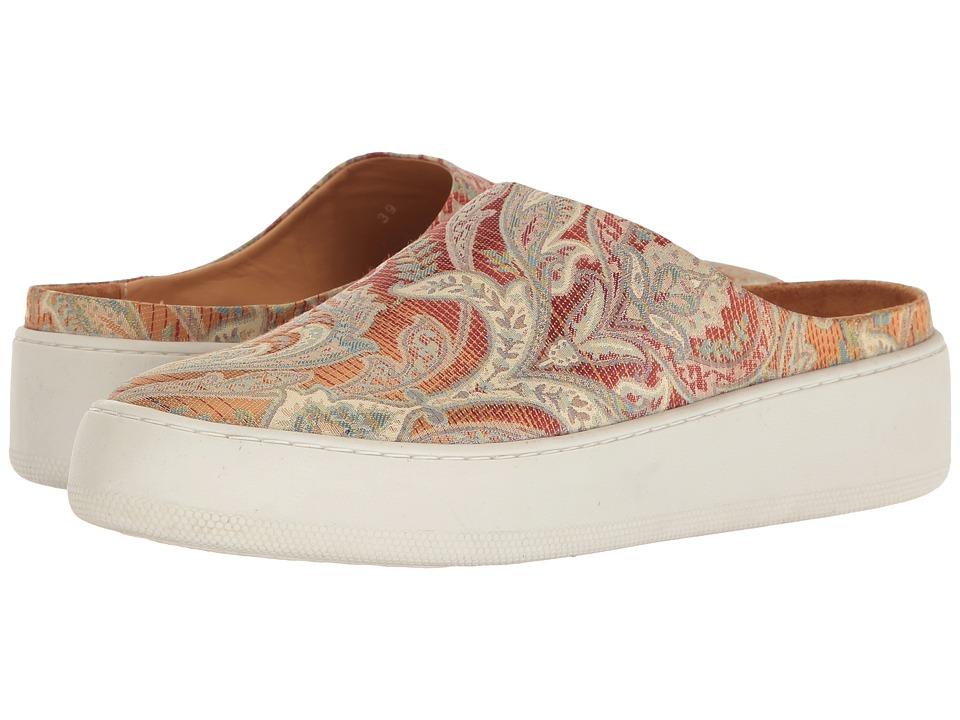 Free People Wynwood Slide Sneaker (Orange Combo) Women