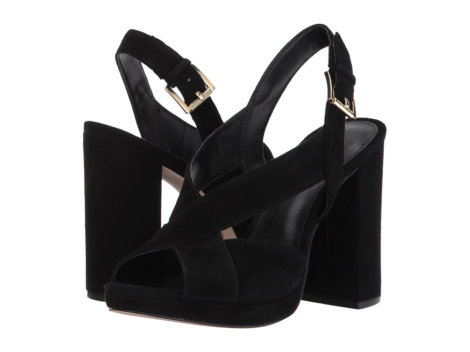 MICHAEL Michael Kors - Becky Platform (Black) Womens Shoes
